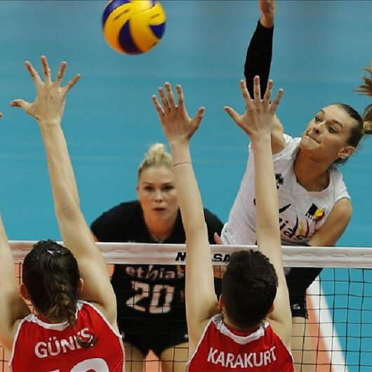 Volleyball: Turkey beaten by Belgium in Nations League