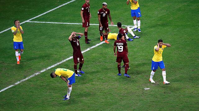 Brezilya'yı Venezuela karşısında VAR durdurdu