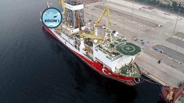 Yavuz sondaj gemisi Doğu Akdeniz'e uğurlandı.