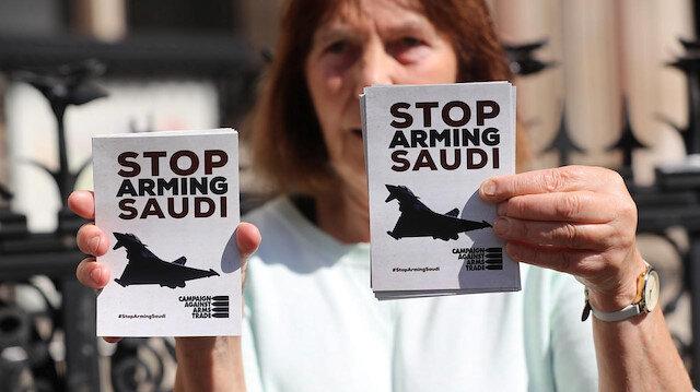 İngiliz mahkemesinden Suudi Arabistan'a silah satışını durduracak kararı