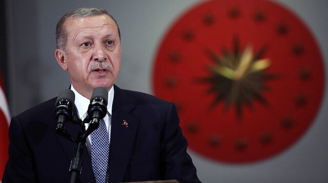 Cumhurbaşkanı Erdoğan'dan Dünya Mülteciler Günü mesajı