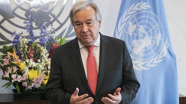 BM Genel Sekreteri Guterres Körfez'deki gelişmelerden endişeli