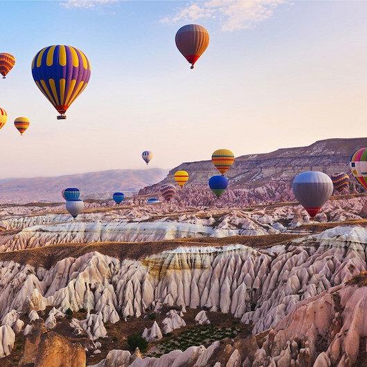 مناطيد من 11 دولة تشارك بمهرجان في كبادوكيا التركية