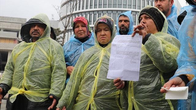AK Parti'den CHP'ye geçen Bolu Belediyesi'nde de gerçekleşen işçi kıyımları basın açıklaması ile protesto edilmişti.