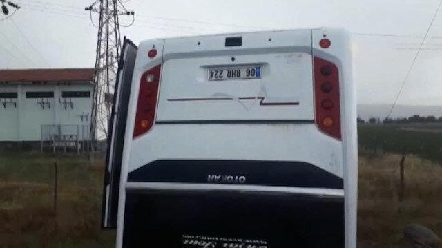 Nevşehirde minibüs devrildi: Çok sayıda yaralı