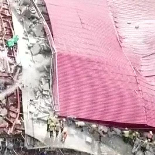 Seven dead, dozens trapped in Cambodia building collapse