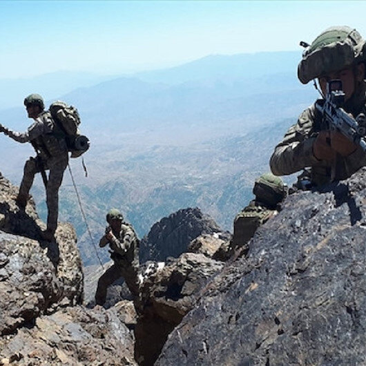 Turkey neutralizes 58 PKK terrorists in north Iraq