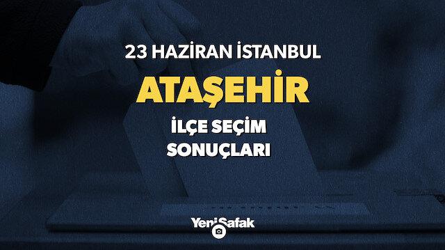 Ataşehir İstanbul seçim sonuçları.