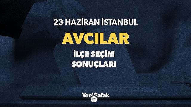 İstanbul Avcılar seçim sonuçları.
