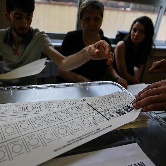 Seçim kanununa muhalefetten 124 kişiye işlem