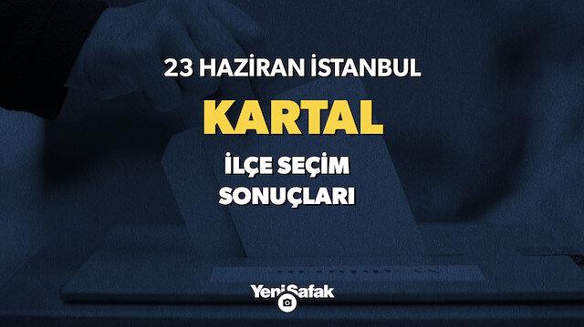 23 Haziran Kartal seçim sonuçları