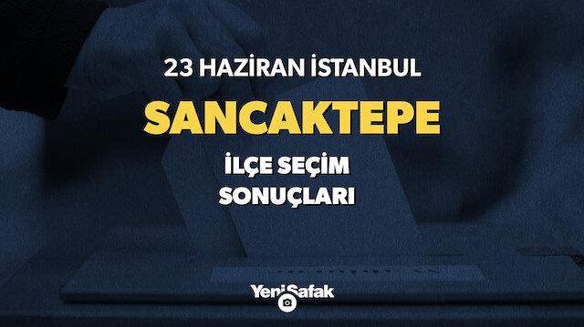 23 Haziran Sancaktepe seçim sonuçları