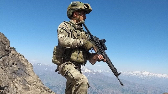Hakurk'a Pençe Harekatı: 6 terörist daha etkisiz hale getirildi