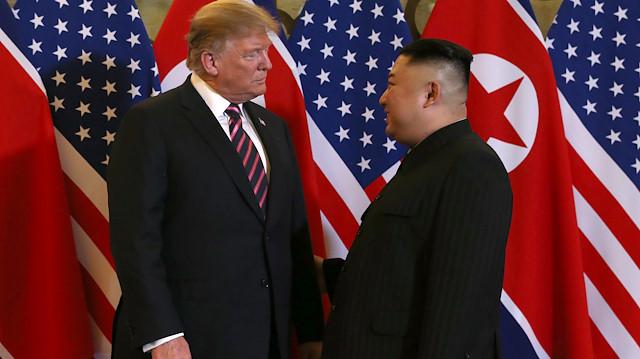 ABD Başkanı Donald Trump ve Kuzey Kore lideri Kim Jong-un