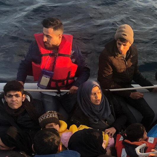 Over 3,500 irregular migrants held over past week