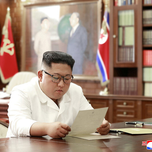 North Korea's Kim gets 'excellent' letter from Trump