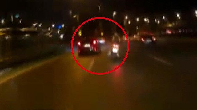 Motosikletlinin öldüğü kazanın kamera kayıtları ortaya çıktı