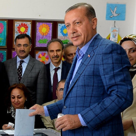 Erdoğan votes in Istanbul election re-run