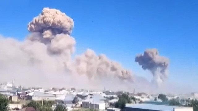 Kazakistan'da askeri mühimmat deposunda patlama: 11 yaralı