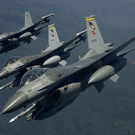 Turkish fighter jets strike 2 PKK terrorists in N Iraq