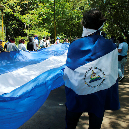 Pressure mounting on Nicaraguan president in Germany