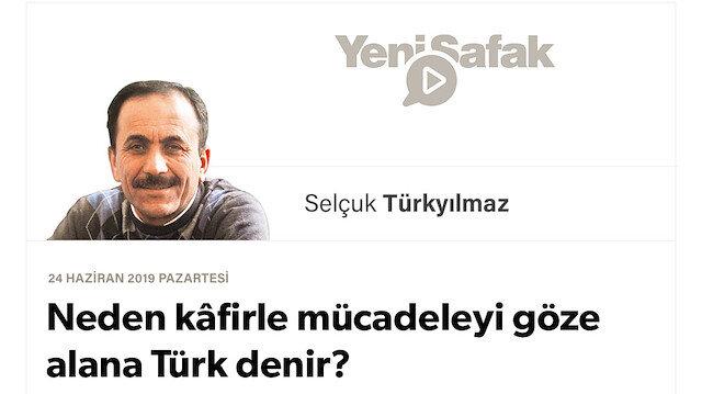 Neden kâfirle mücadeleyi göze alana Türk denir?