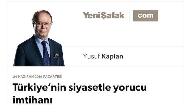 Türkiye'nin siyasetle yorucu imtihanı