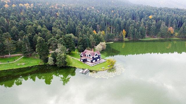 Gölcük Tabiat Parkı'ndaki bungalov evler ihaleyle satılacak