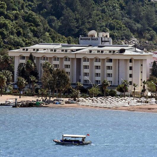 Milyon dolarlık 5 yıldızlı otel kaderine terk edildi