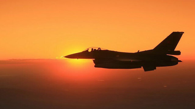 Turkish fighter jets hit 2 PKK terrorists in N.Iraq