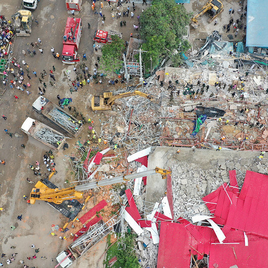 Cambodia charges Chinese nationals over deadly building collapse