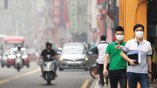 Malezya'da hava kirliliği alarmı