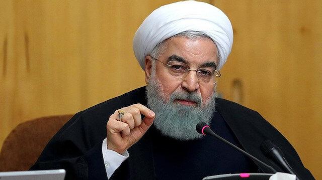 İran Cumhurbaşkanı Hasan Ruhani.