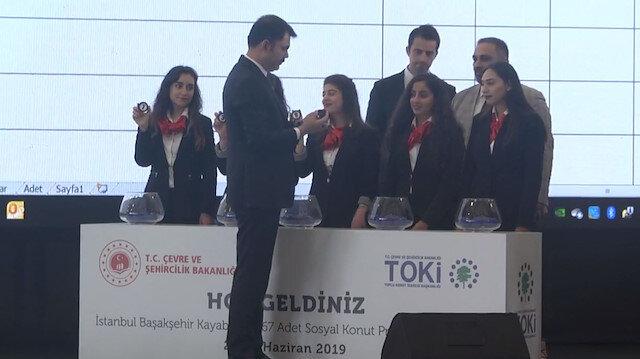 TOKİnin İstanbul kuraları başladı