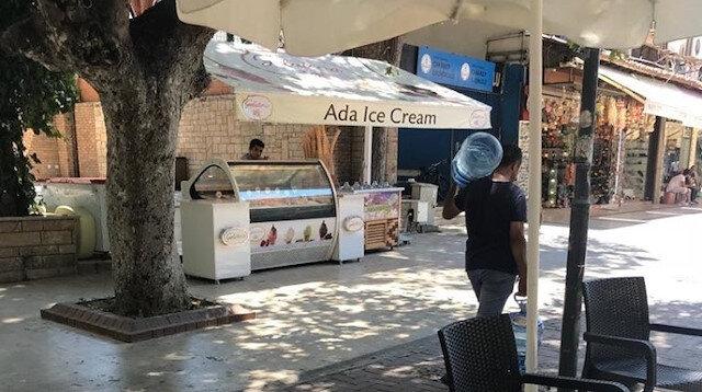 Dondurma tezgahı
