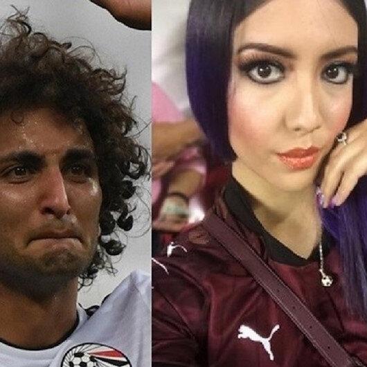 المكسيكية التي نشرت فيديو فاضحا لعمرو وردة تشكر مدرب مصر