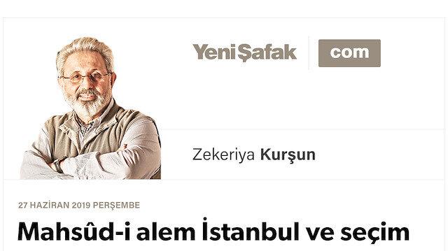 Mahsûd-i alem İstanbul ve seçim