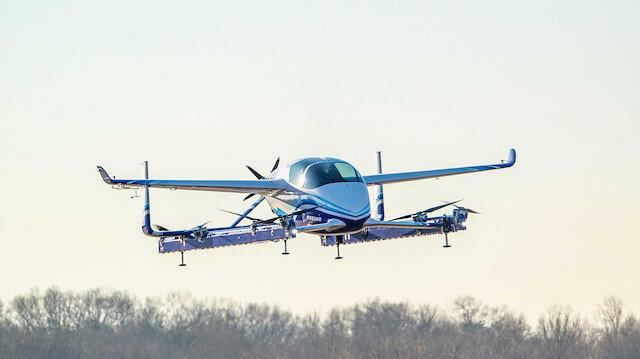 Boeing uçan araba projesi