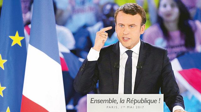 Macron kışkırtıyor