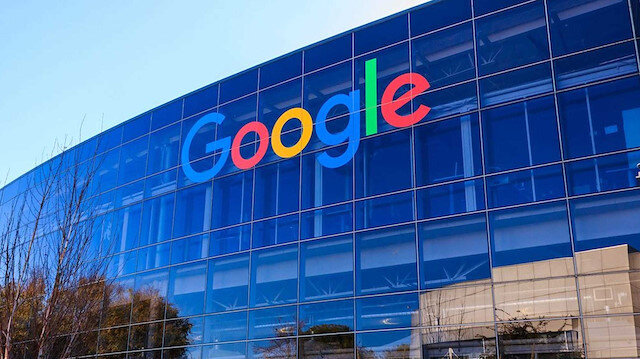 Google merkez ofisi.