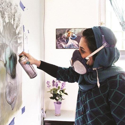 Kabil'in duvarları artık renksiz