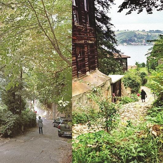 Eski bir sokakta İstanbul'u dinlemek