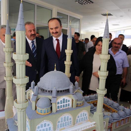معرض حرف يدوية صنعها سجناء في تركيا