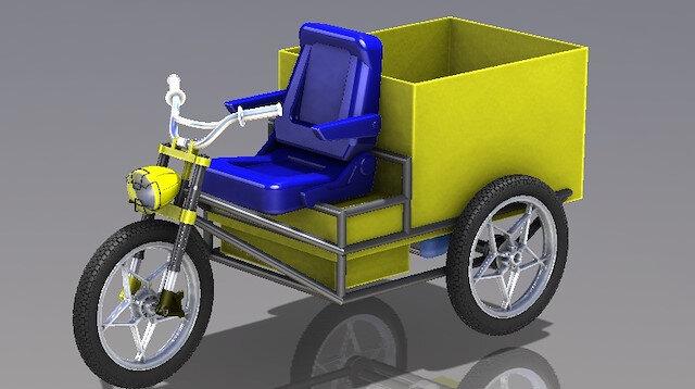 OSTİM Teknik Üniversitesi, 2 ve 3 tekerlekli modellerden oluşan elektrikli kargo taşıma aracı tasarımı