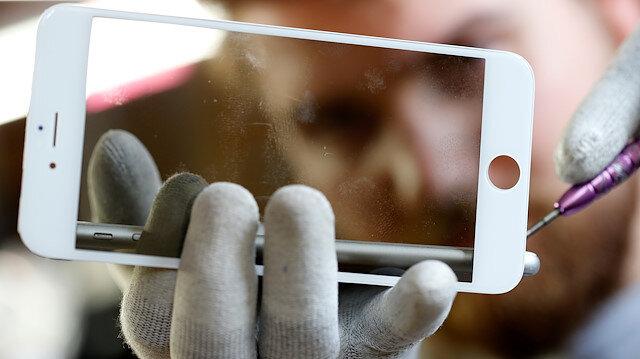 iPhone 8 ekranı.