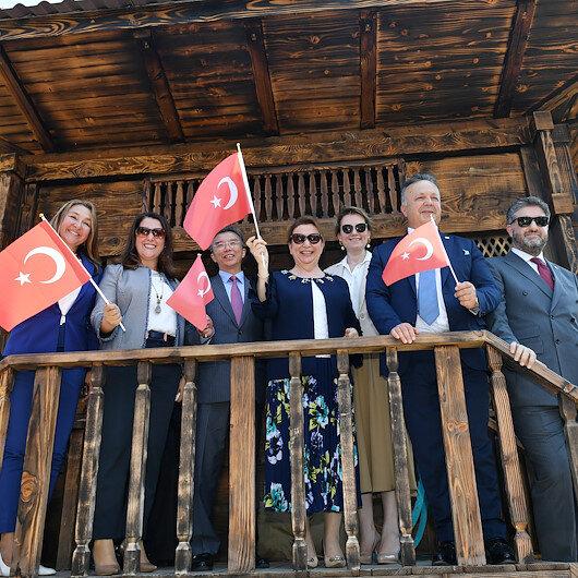 """وزيرة تفتتح فعاليات """"اليوم الوطني التركي"""" في """"إكسبو بكين 2019"""""""