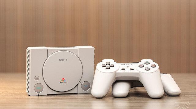 Sony'nin günümüz teknolojisi ile yeniden tasarladığı Playstation classic
