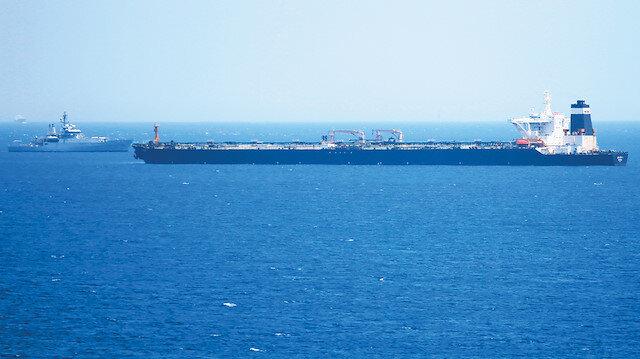 Cebelitarık'ta tanker krizi