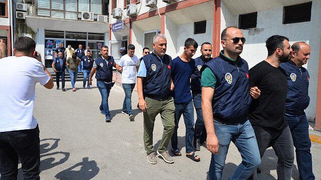 Mersin'de sahte içki zehirlenme olayı ile ilgili 4 kişi tutuklandı