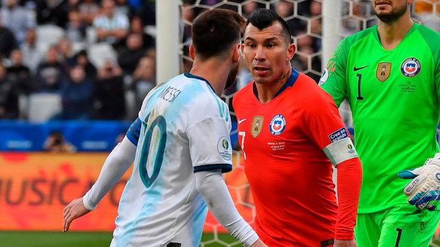 Messi ve Medel tartıştı
